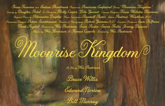 Moonrise Kingdom Poster and Hyperreal Portraits by Michael Gaskell