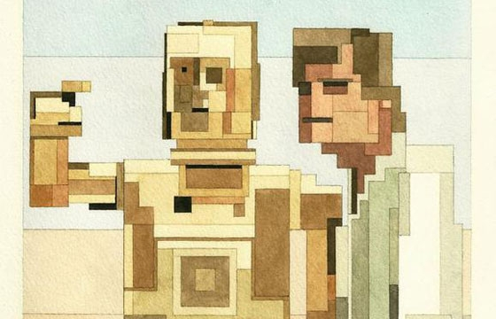 Adam Lister's 8-Bit Star Wars Series