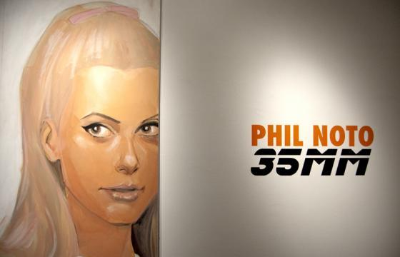 "Recap: Phil Noto ""35mm"" @ Bold Hype, NYC"