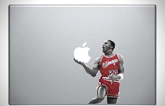 Michael Jordan Apple Macbook Decal
