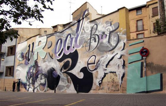 "RIPO ""Surreal But So Real"" for Tudela de Navarra, Spain"