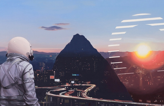 "Juxtapoz Magazine - Scott Listfield on His Show ""ALGORITHM,"" Black Mirror, Elon Musk, and More"