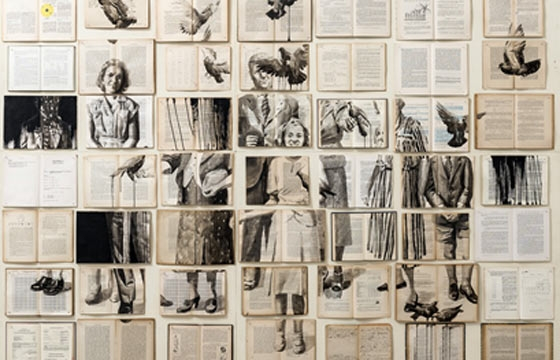 Ekaterina Panikanova's Paintings on Books