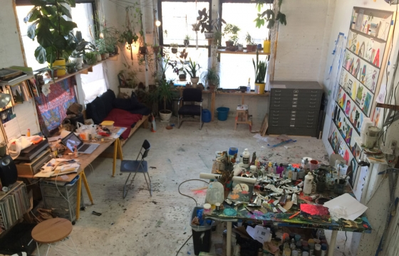 Paul Wackers: A Studio with Lots of Plants, Naturally
