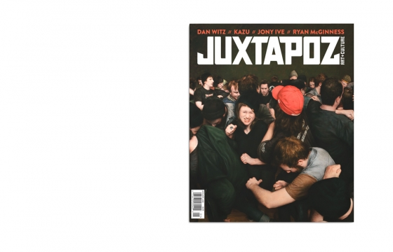 January 2015 Issue Preview w/ Dan Witz, Ryan McGinness, Kazu and More