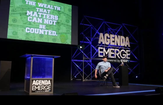 Agenda: Emerge Conference w/ Shepard Fairey, Bob Hurley, and more