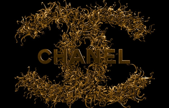 Txaber's Chanel No.5 Typography