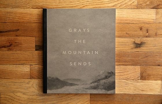 "A look inside ""Grays The Mountain Sends"" published by Silas Finch"