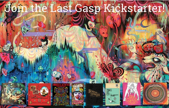Be a Part of Last Gasp's Fall Publishing Season