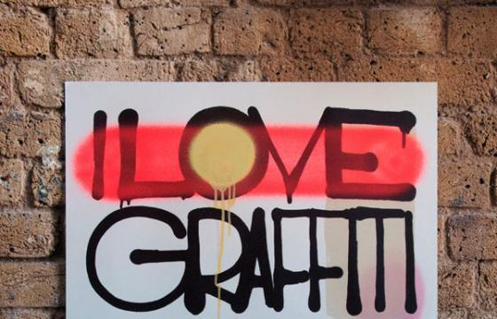 """I Love Graffiti When It's Not On My Property"" by ROIDS"
