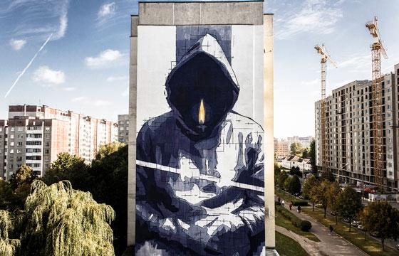 The Murals of Greek Artist Ino
