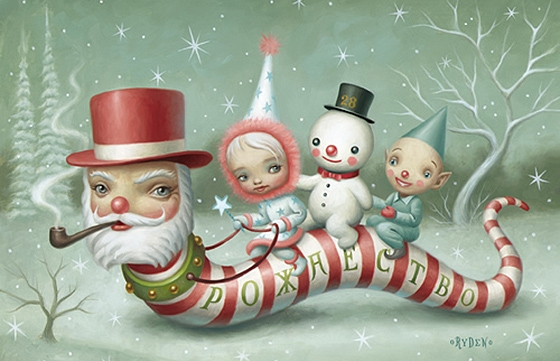 Mark Ryden's Holiday Spirit