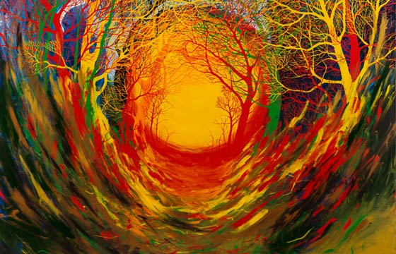 "Stanley Donwood ""Far Away Is Close At Hand in Images of Elsewhere"" @ The Outsiders, London"