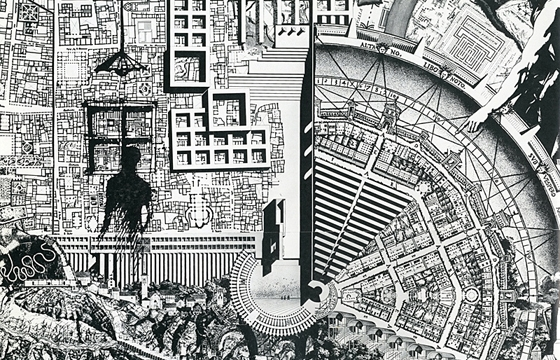 Drawings and Sketches by Italian Architect Aldo Rossi