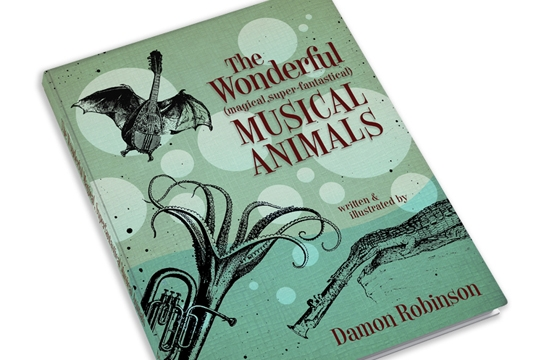 The Wonderful Musical Animals Book and Prints on Kickstarter