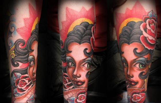 The Tattoo Work of Tim Hendricks