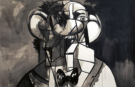"George Condo ""Ink Drawings"" @ Skarstedt Gallery, London"