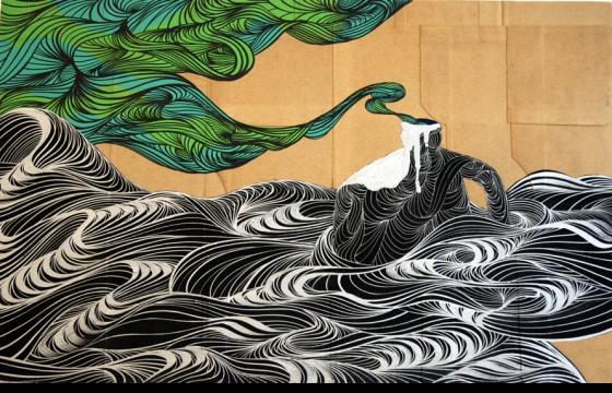Juxtapoz 15th Anniversary Art Auction: David Ellis