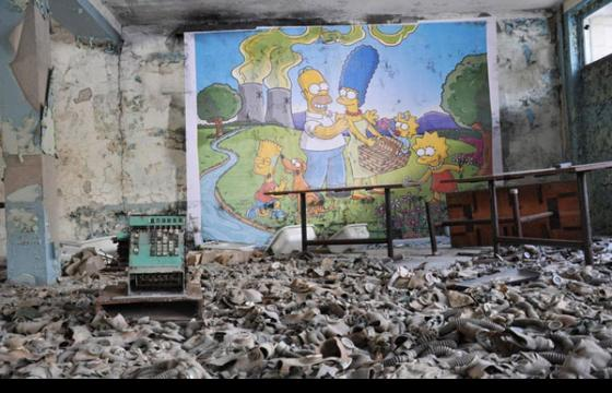 The Simpsons in Chernobyl