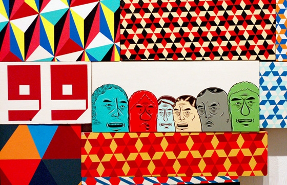Opening: Barry McGee @ Cheim & Read Gallery, NYC
