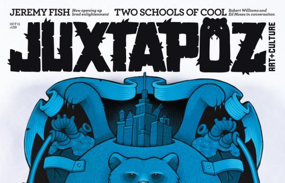 Sneak Peek: Jeremy Fish for Juxtapoz October 2011