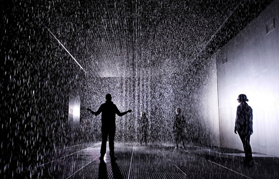 "Random International's ""Rain Room"" @ MoMA, NY"