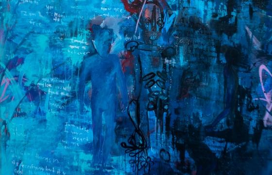 """Diego Garcia Has """"Clarity"""" @ Muñeca Arthouse, Patchogue, NY"""