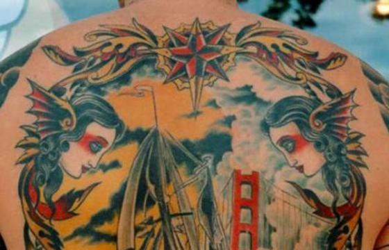 The Tattoos of Theo Mindell