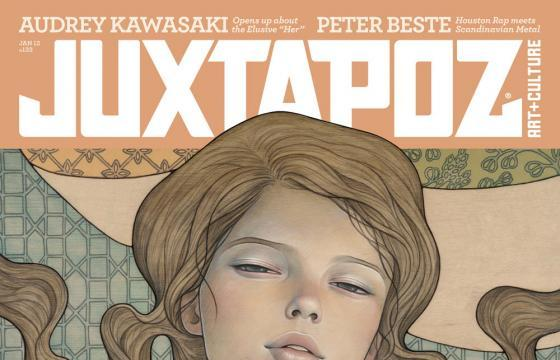Teaser: January 2012 Issue w/ Audrey Kawasaki