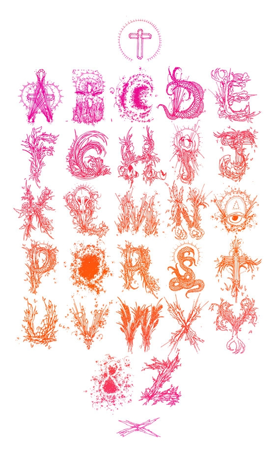 Hannah Stouffer's 'Metaphysical Alphabet'