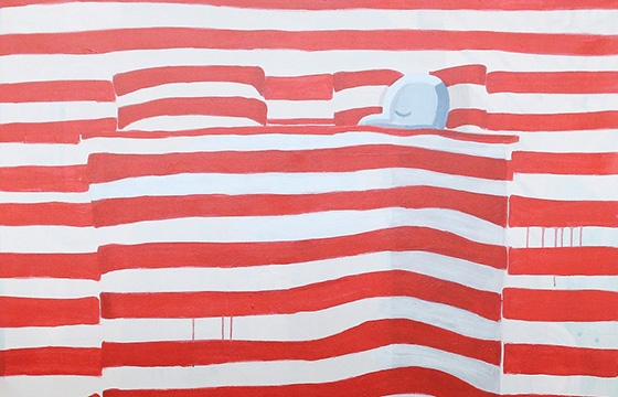 "Juxtapoz Magazine - Ralf Kokke's Quirky ""Normal"""