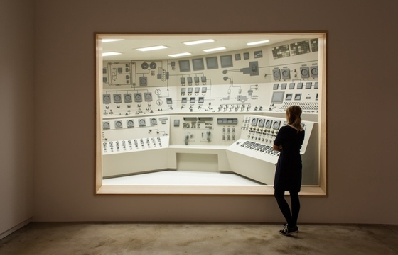 """Control Room"" by Roxy Paine"
