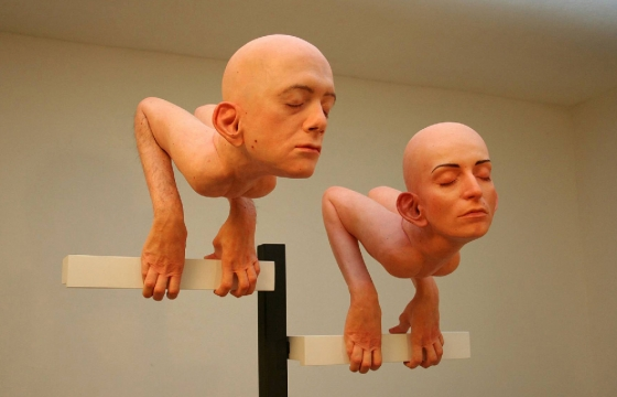 Juxtapoz Magazine - Santissimi's Creepy Resin Sculptures