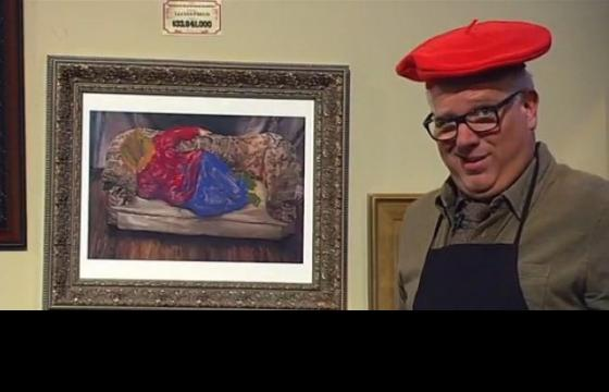 Glenn Beck Makes Artwork: We Recommend He Keeps His Day Job