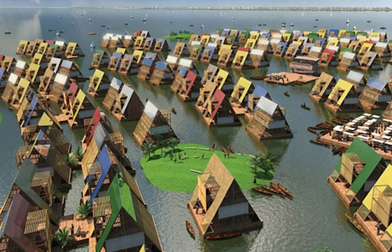 Makoko Floating School in Nigeria