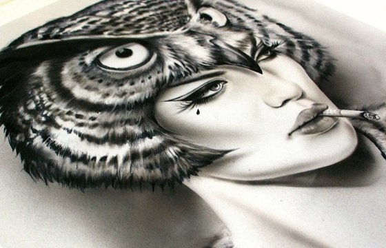 'Night-Watch-Her' Limited Edition Print by Brian M. Viveros
