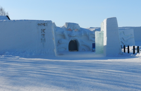 Tour: The SnowCastle in Kemi, Finland