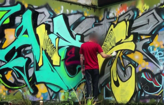 Video: Anemal X Fresh Paint #3