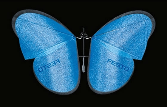 Festo Introduces Drone Butterflies