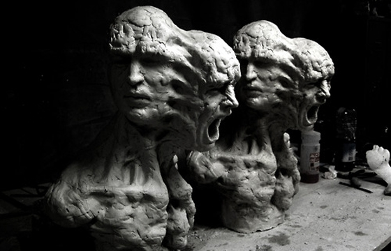 Sculptures by Enrico Ferrarini