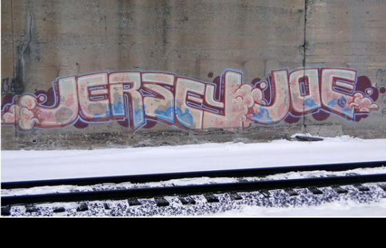 Jersey Joe Trackside Throwback...