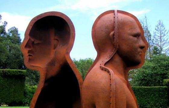 Peter Burke's Mold Sculptures