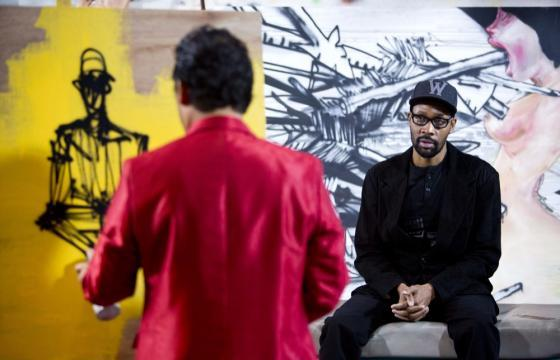 David Choe x RZA & Sandy Benefit Show @ Scion AV, LA