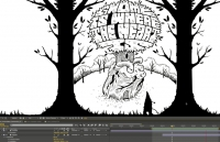 "Juxtapoz × Adobe Present: Jeremy Fish's ""Yesterdays and Tomorrows"" Animation in Progress, Part 2"
