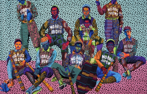 Radio Juxtapoz ep 053: Reinventing, Reimagining and Retelling the American Story with Bisa Butler