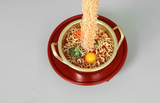 Hyperreal Noodle Sculptures by Seung Yul Oh