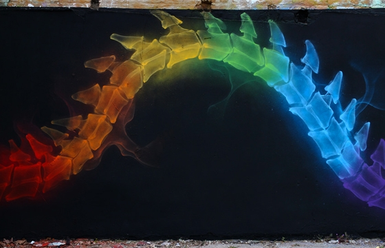 X-Rainbow pieces by Shok-1
