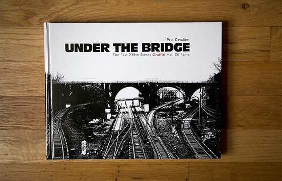 "A look inside ""Under The Bridge"" published by Schiffer"
