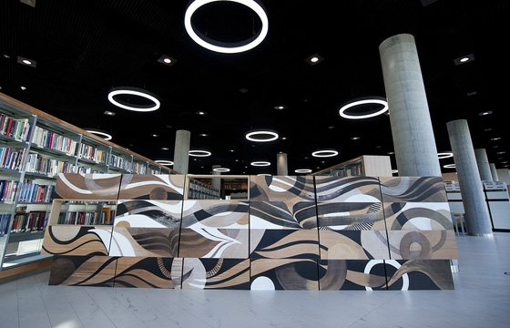 Lucy McLauchlan For The New Library Of Birmingham