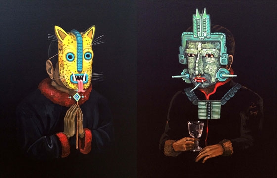 Two new paintings from saner